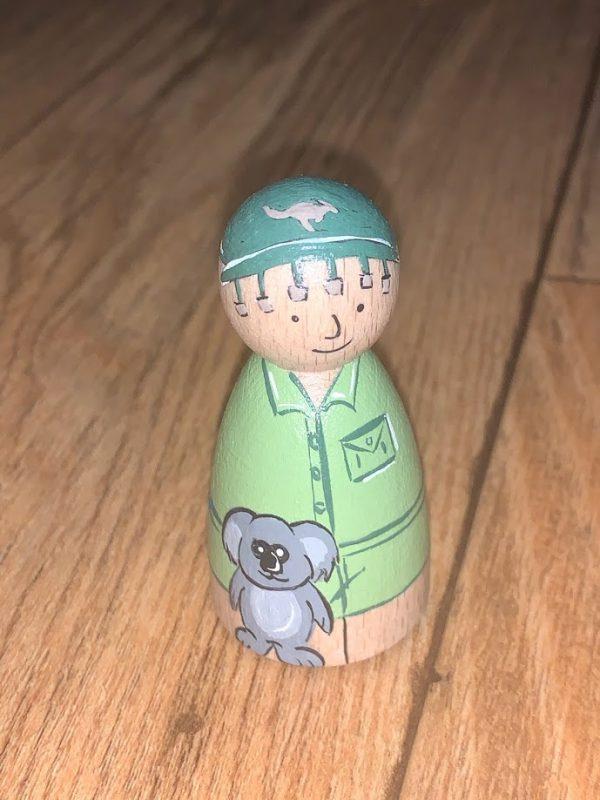 Australian Peg Doll