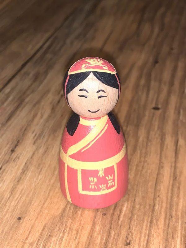 Chinese Peg Doll