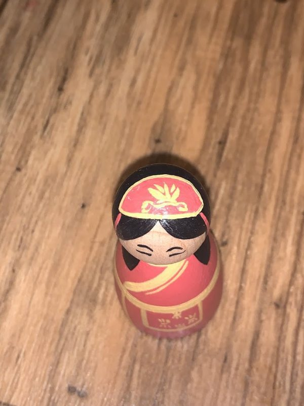 Chinese Peg Doll Top