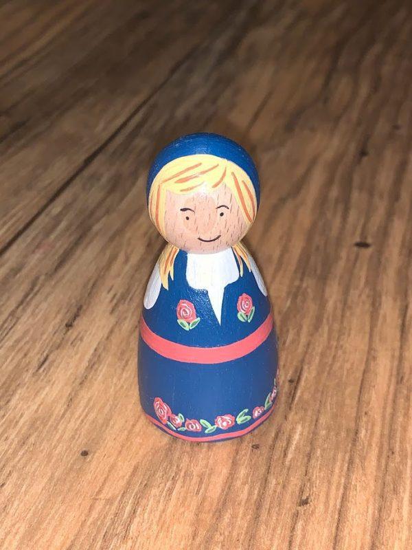 Norwegian Peg Doll